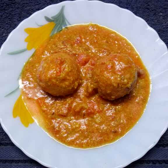 How to make Chanar kofta curry