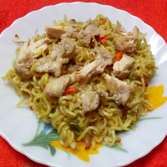 Photo of Chicken noodles by Sharmila Dalal at BetterButter
