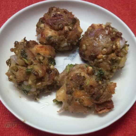 Photo of Gota moonger pakora by Sharmila Dalal at BetterButter
