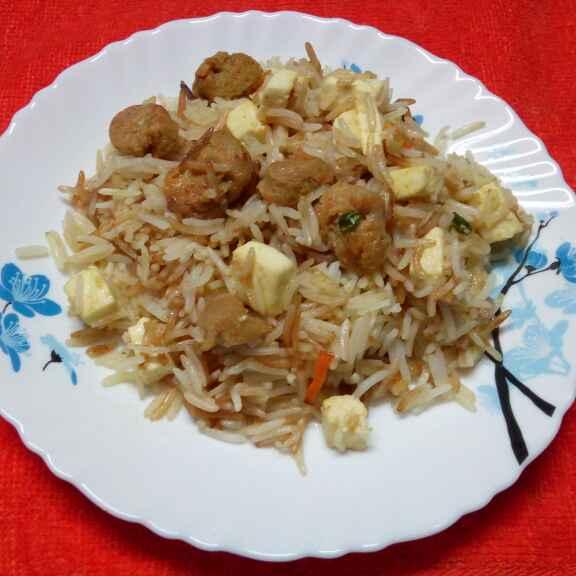 Photo of Soya paneer rice by Sharmila Dalal at BetterButter