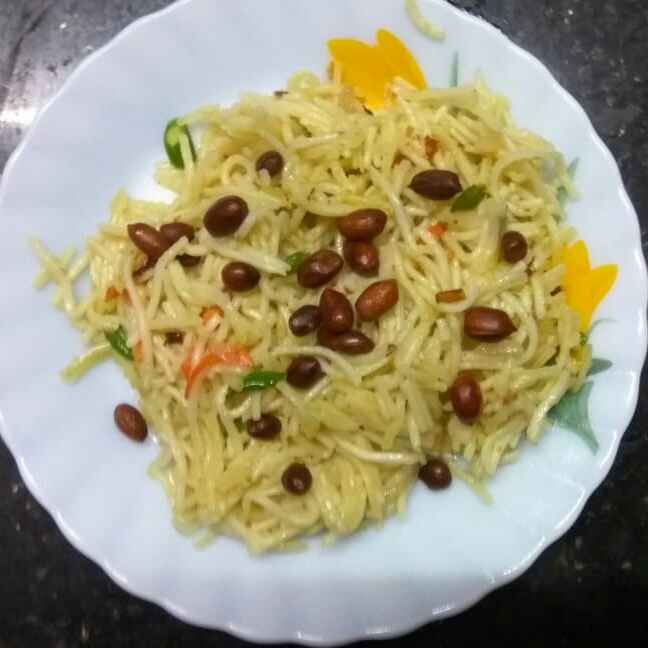How to make বাদাম চাউ