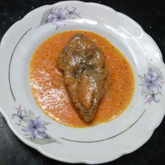Photo of Tomato ilish by Sharmila Dalal at BetterButter