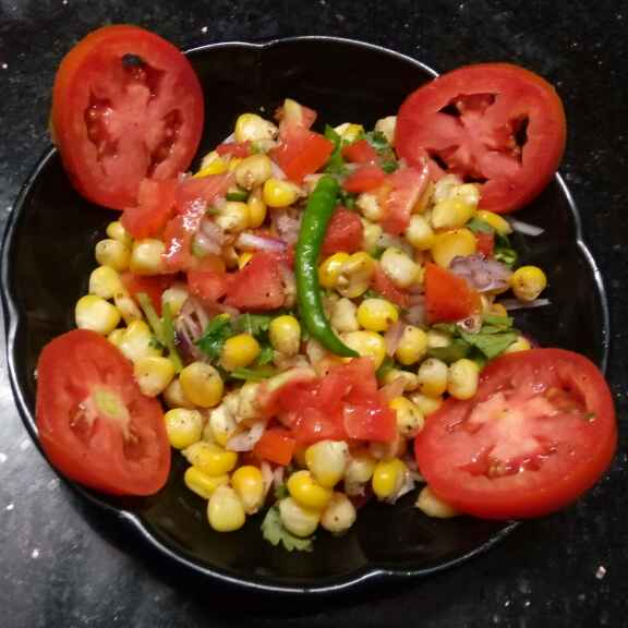 Photo of sweet corn chat by Sharmila Dalal at BetterButter