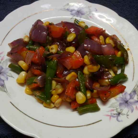 Photo of Mixed veg with corn by Sharmila Dalal at BetterButter