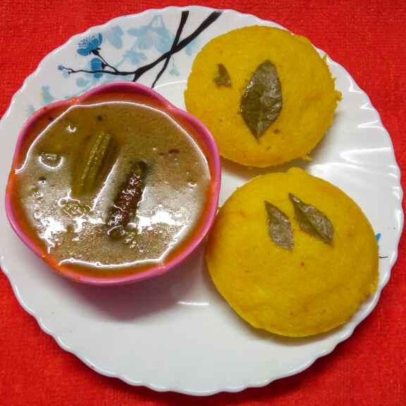 Photo of Yellow idli by Sharmila Dalal at BetterButter
