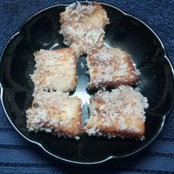 Photo of Narkel bread toast by Sharmila Dalal at BetterButter