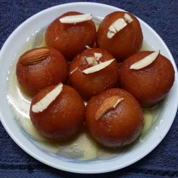 Photo of Bread gulab jamun by Sharmila Dalal at BetterButter