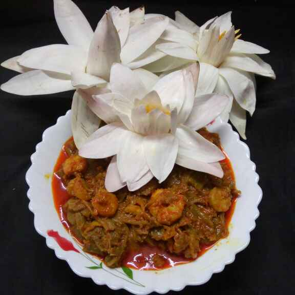 Photo of Shapla chingri by Sharmila Dalal at BetterButter