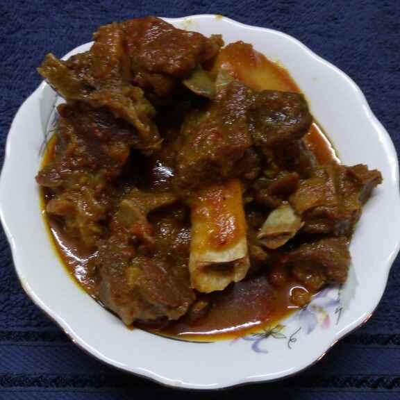 Photo of Mejaji mutton by Sharmila Dalal at BetterButter