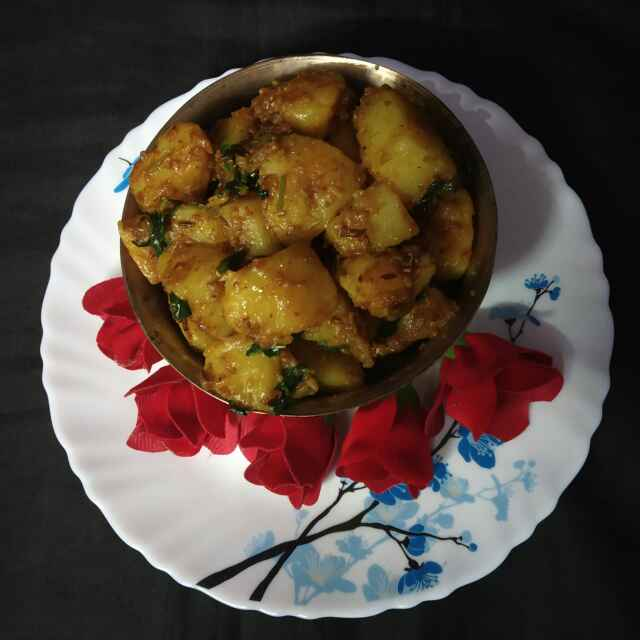 How to make জিরা আলু