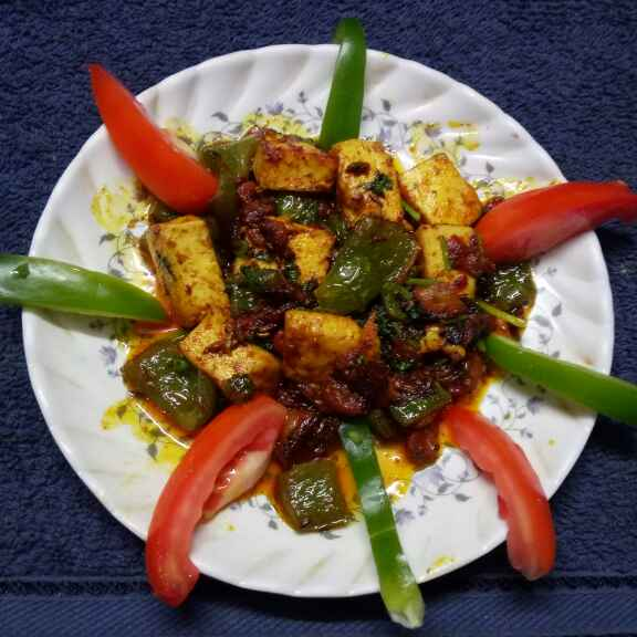 Photo of Tomato capsi paneer by Sharmila Dalal at BetterButter