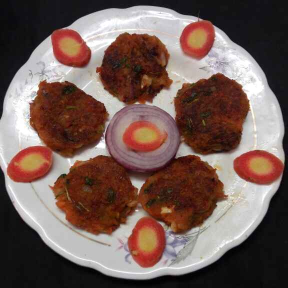 Photo of Carrot kabab by Sharmila Dalal at BetterButter