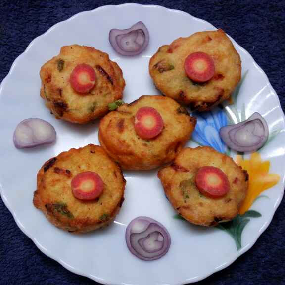 Photo of Biulir daler veg pakora by Sharmila Dalal at BetterButter
