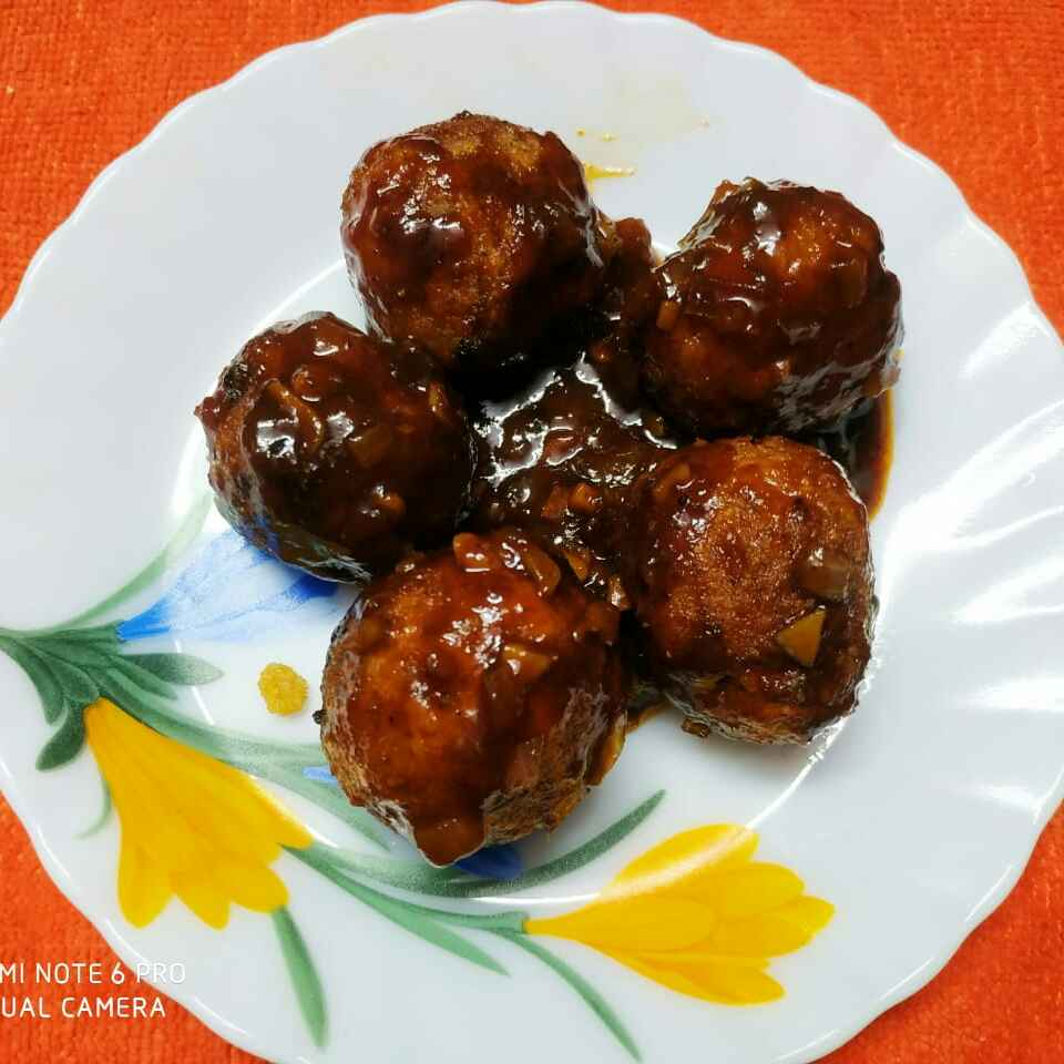 Photo of Chicken laddu by Sharmila Dalal at BetterButter