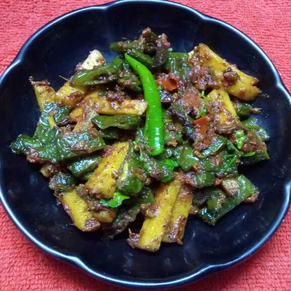 How to make মেথি শিম