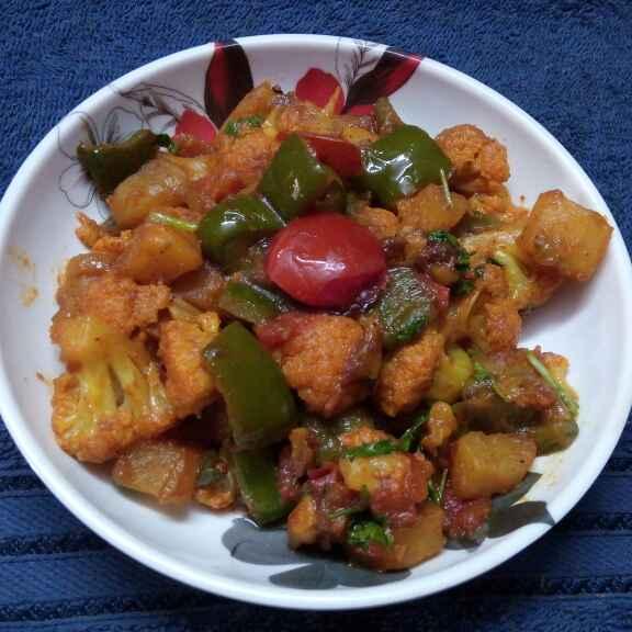 Photo of Maggi masla diye chatpata sobji by Sharmila Dalal at BetterButter