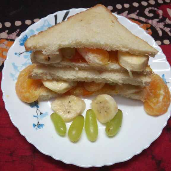 Photo of Fruits sandwitch by Sharmila Dalal at BetterButter