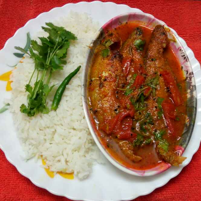 Photo of Tomato pabda by Sharmila Dalal at BetterButter