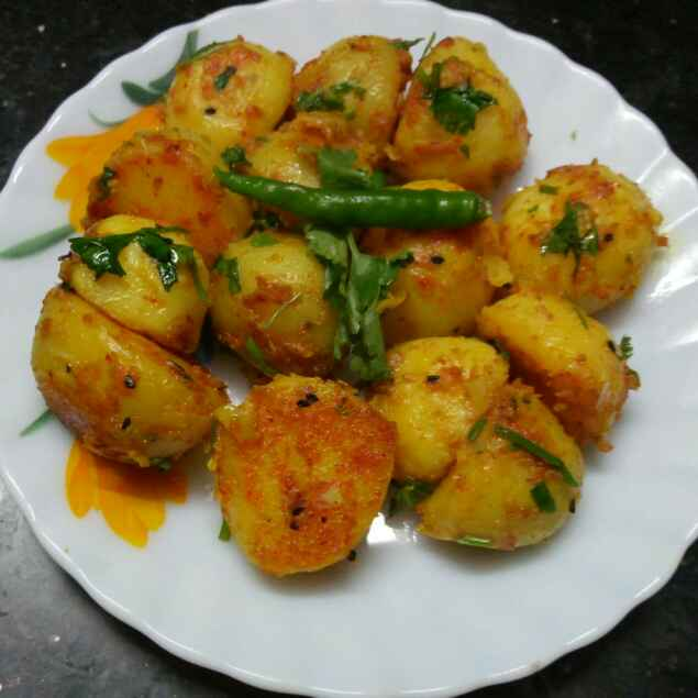 Photo of Chotpota dry masala alu by Sharmila Dalal at BetterButter