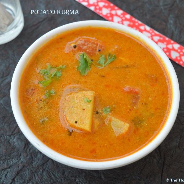 How to make Potato Kurma | Aloo Kurma