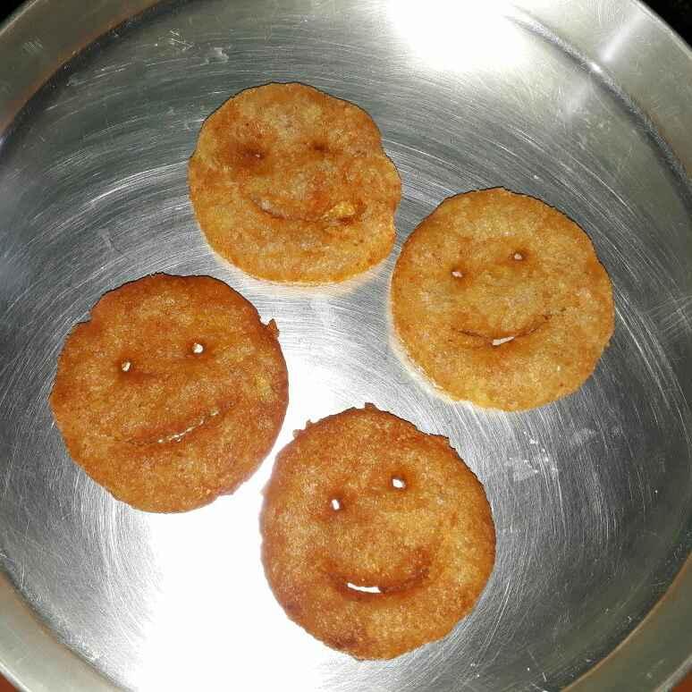 How to make Potato smiley