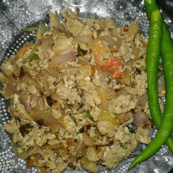 Photo of egg bhurji by Sharmiley Ravi at BetterButter