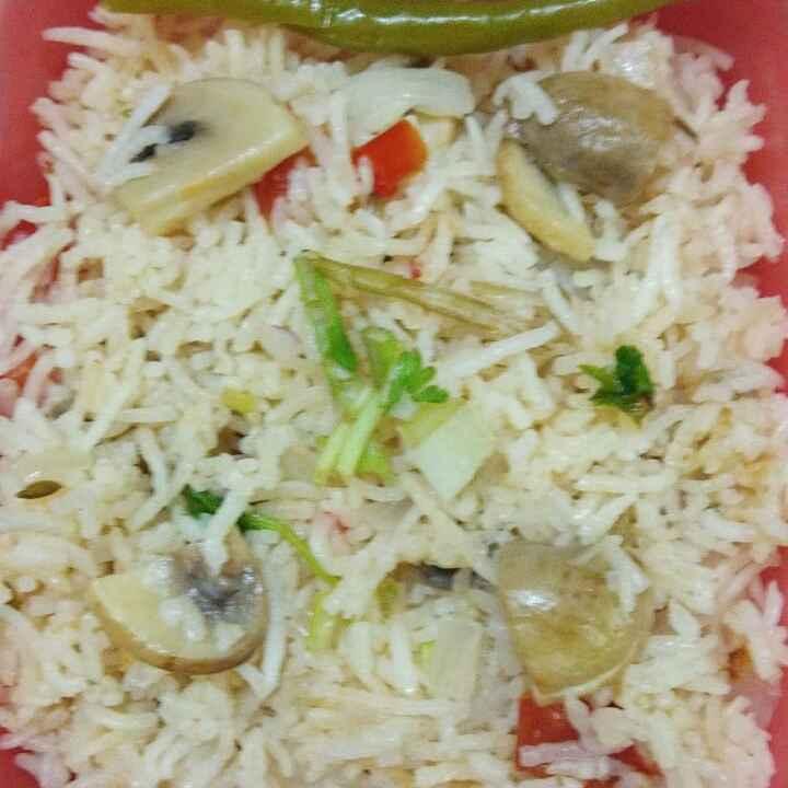 Photo of Mushroom pulav by Sharmiley Ravi at BetterButter