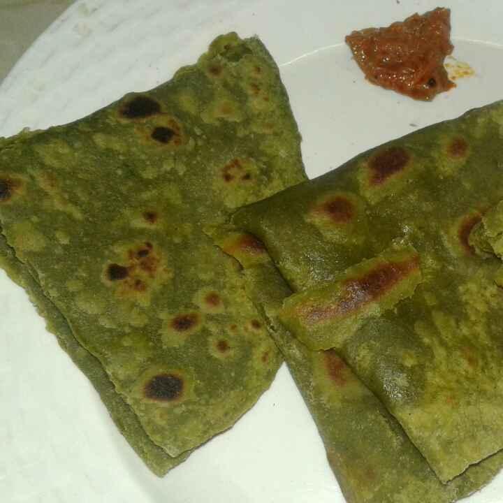 Photo of Palak paratha by Sharmiley Ravi at BetterButter