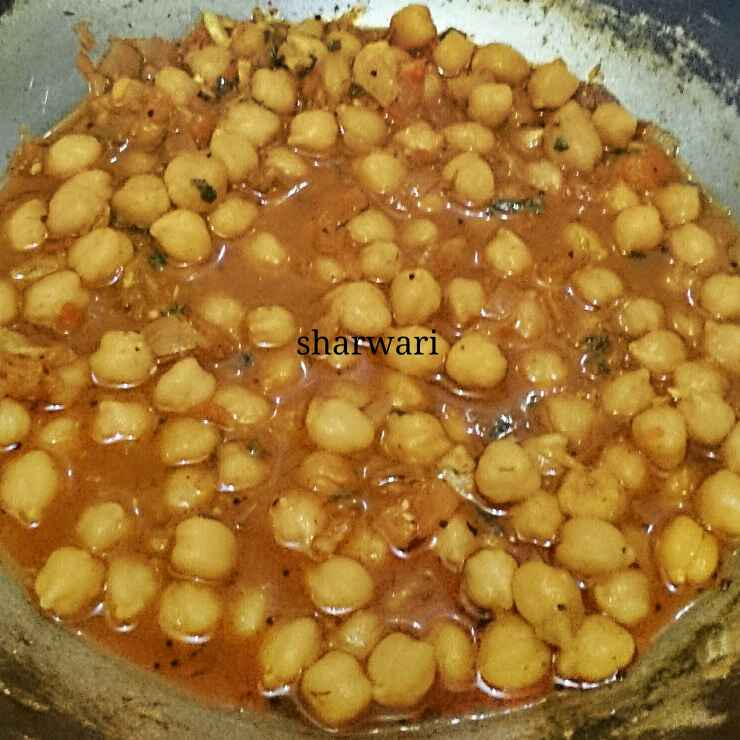 How to make चना मसाला