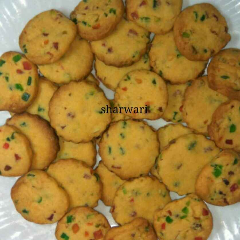 How to make चेरी कुकीज