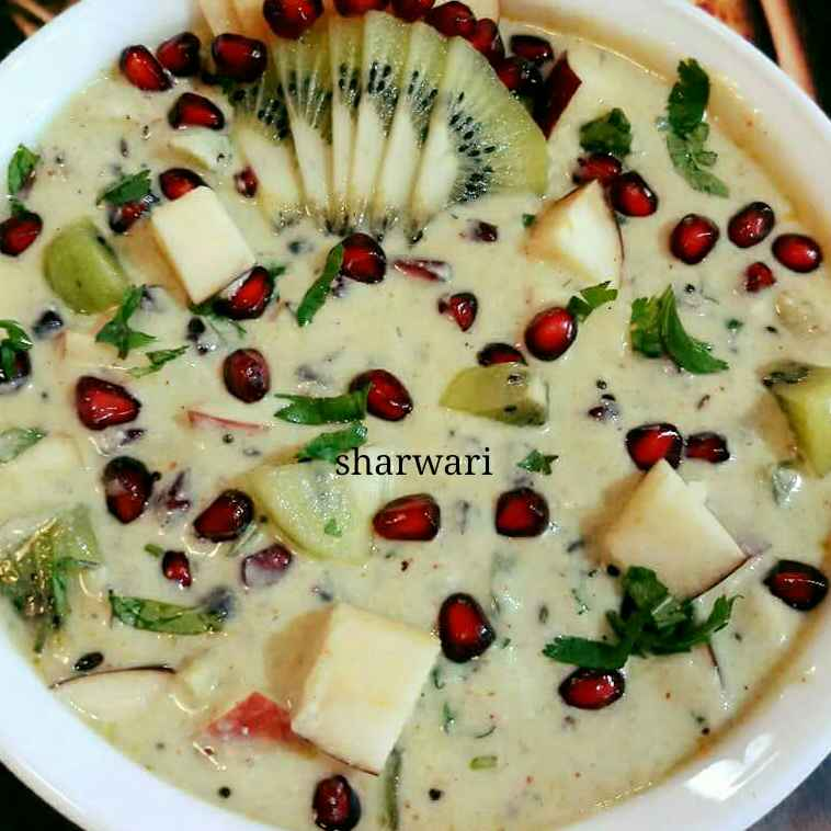 Photo of Fruit sweet curd by sharwari vyavhare at BetterButter