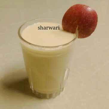 Photo of Apple milkshake by sharwari vyavhare at BetterButter