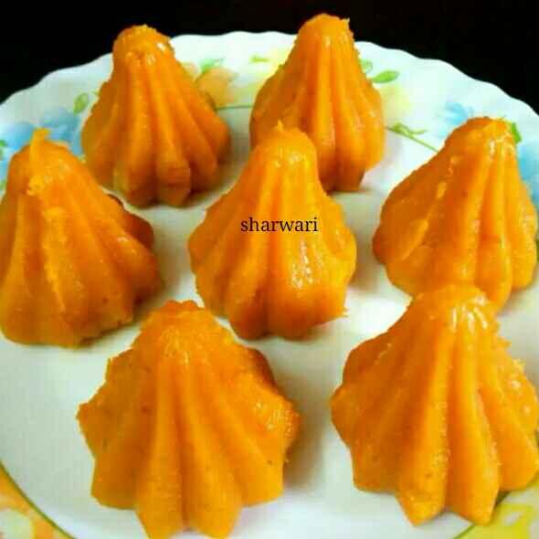 Photo of Mango white chocolate Modak by sharwari vyavhare at BetterButter