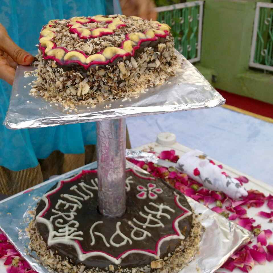 How to make एग्गलेस केक