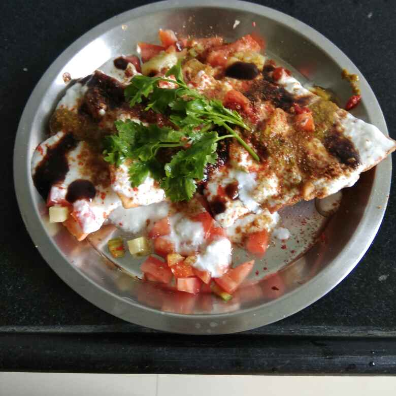 Photo of Chatpati chat (leftover sukhi chapati) by Shashi Pandya at BetterButter