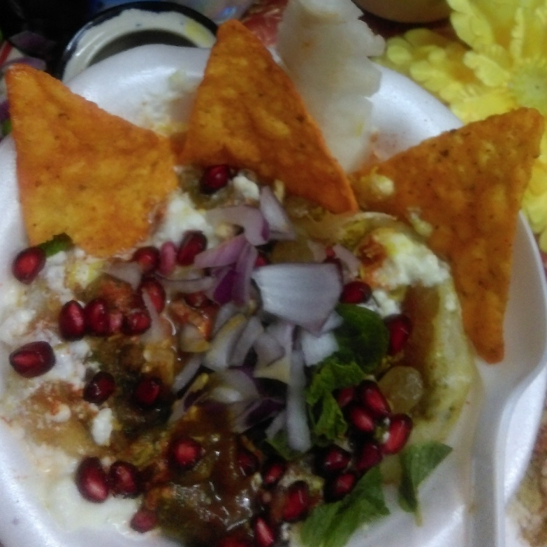 Photo of Papdi Dahi chaat by Shashi Tewari at BetterButter