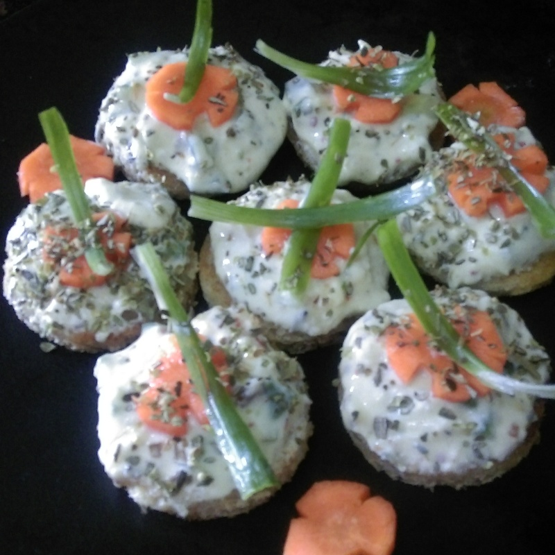 How to make Curd Canapes
