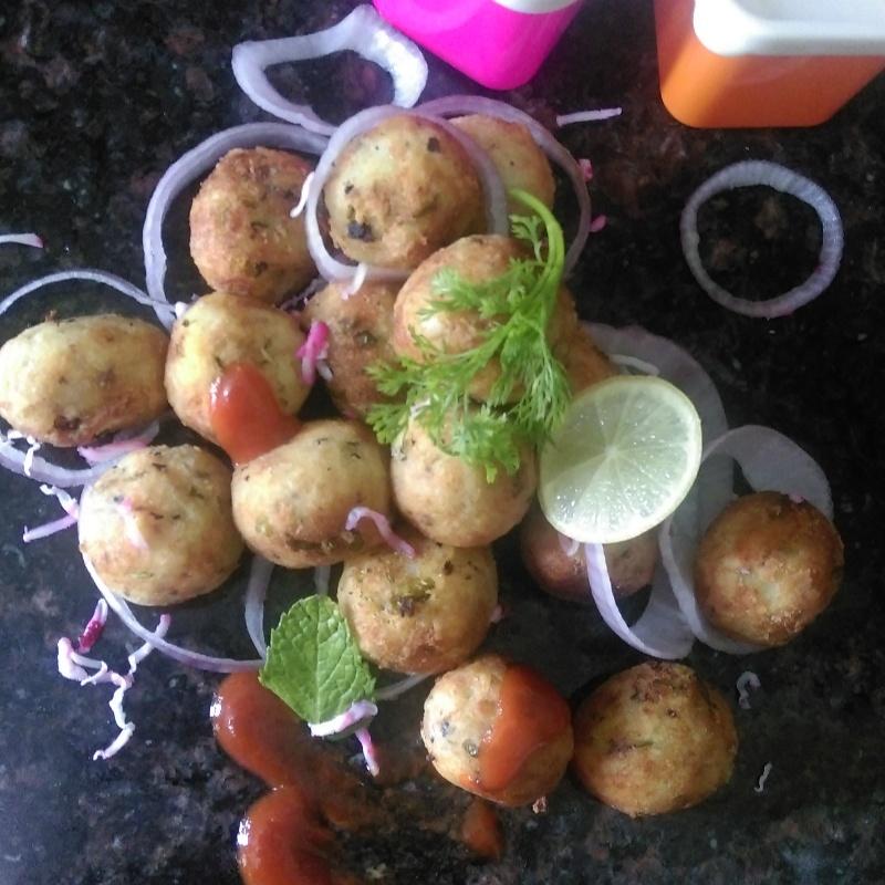 Photo of Cheese Bliss Balls by Shashi Tewari at BetterButter