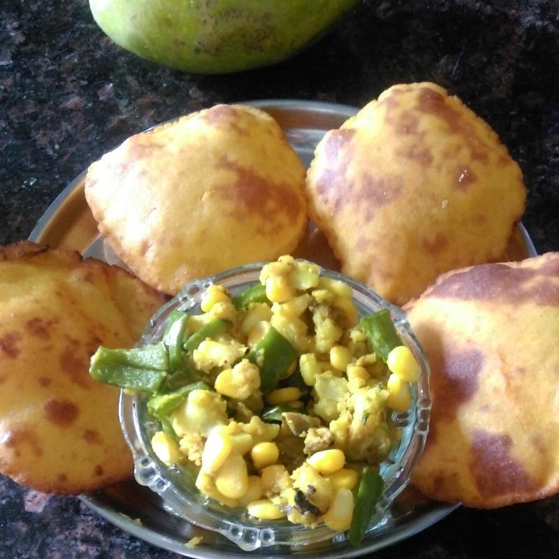 Photo of Mango Puris by Shashi Tewari at BetterButter