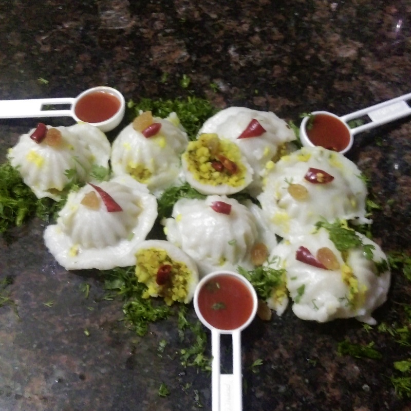 How to make Lentils and Coconut Stuffed Dumplings