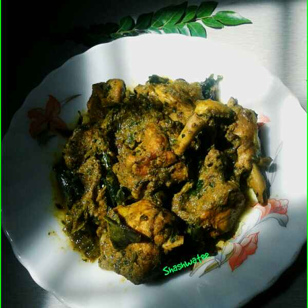 Photo of Curry leaves chicken by Shashwatee Swagatica at BetterButter