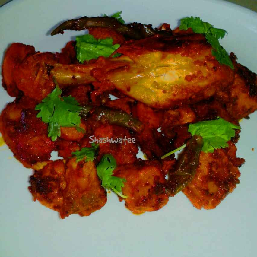 Photo of Bhuna chicken kebab by Shashwatee Swagatica at BetterButter