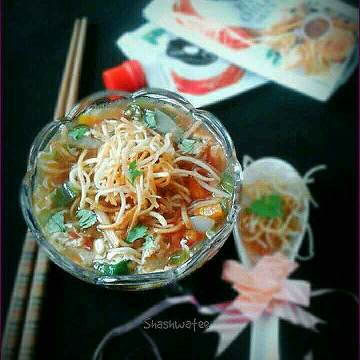 How to make Chicken manchow soup
