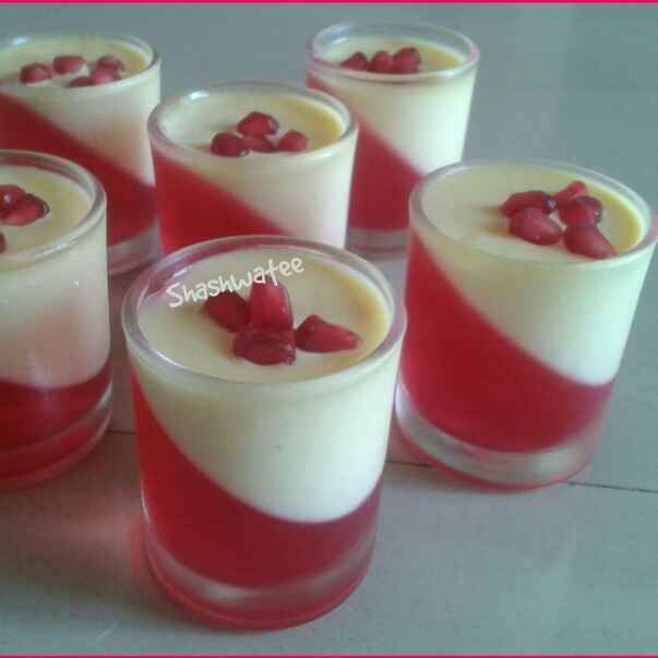 Photo of Custard aur jelly pudding by Shashwatee Swagatica at BetterButter