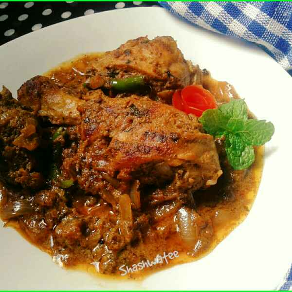 Photo of Chicken afghani gravy by Shashwatee Swagatica at BetterButter