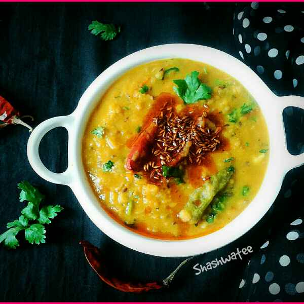 How to make Smoky daal tadka(Restaurant style)