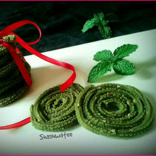 How to make Mint chakli/murukku