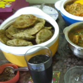 How to make puri chole