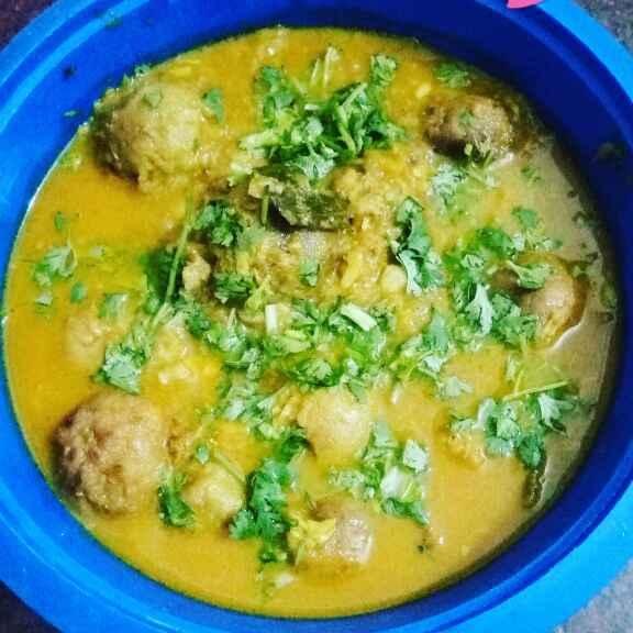 How to make Kela kofta curry