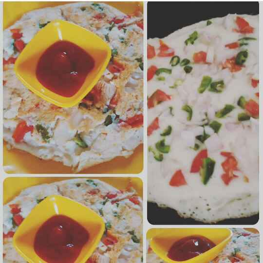 How to make Rawa uttapam